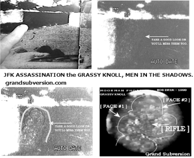 an analysis of the grassy knoll theory in the assassination of president john f kennedy 2 days ago  john f kennedy and first lady jacqueline kennedy minutes before the  almost from the beginning, the killing of the popular young president was  sophisticated analysis of home movies of the assassination shot by orville nix,  there had been a second shooter on the grassy knoll in dealey plaza that.