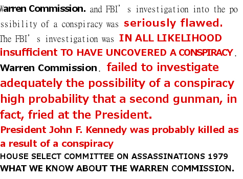 werren commission report jfk assassination president jhon f  kennedy